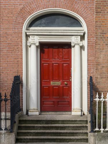 GEORGIAN DOOR- DUBLIN, IRELAND Poster