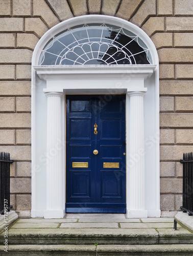 GEORGIAN DOOR - DUBLIN, IRELAND Poster