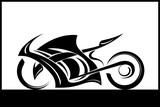 motorcycle vector illustration