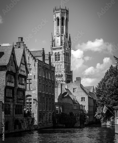 Fotobehang Brugge Brujas