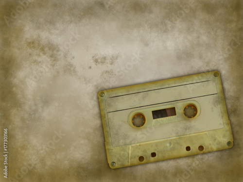 Poster music tape