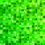 Green geometrical gradient rectangle background - digital mosaic vector graphic from rectangles in green tones - 177321588