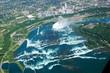 horseshoe falls, aerial view