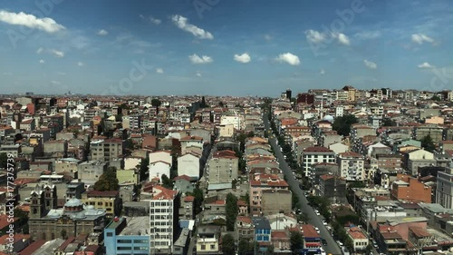 Sticker Istanbul  city timelapse 4k footage