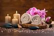 Leinwanddruck Bild - Spa and wellness setting