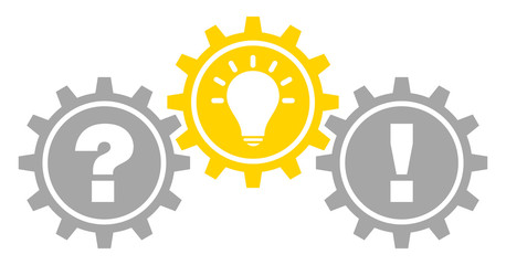 Gears Question, Idea & Answer Grey/Yellow