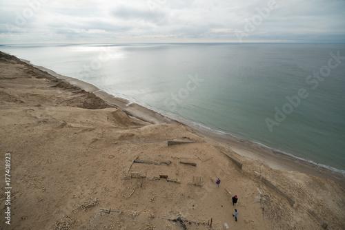 Fotobehang Noordzee desert coastline