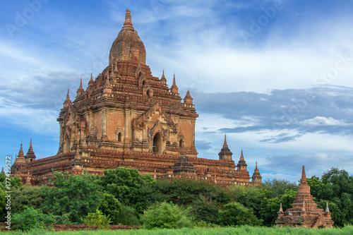 Sulamani temple in Bagan, Myanmar Poster