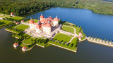 Aerial view of Moritzburg Castle, Saxony - Germany - 177440756