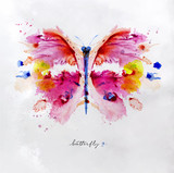 Monotype vivid butterfly - 177457197