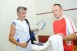 squash players on squash court