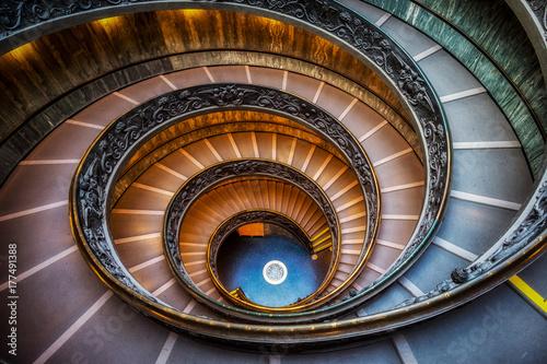 Foto op Plexiglas Trappen Vatican Museum Stairs