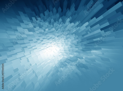 Poster Abstract  background techno graphics