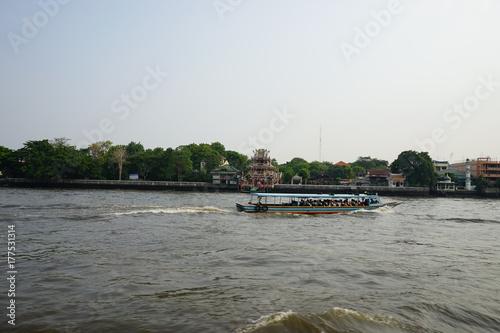 Bangkok Reisefoto Weltreise - Chao Praya Poster