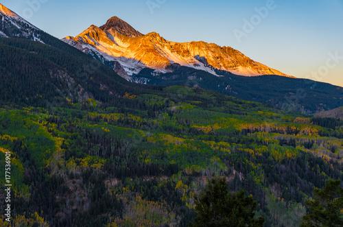 Papiers peints Noir Colorado Mountain View