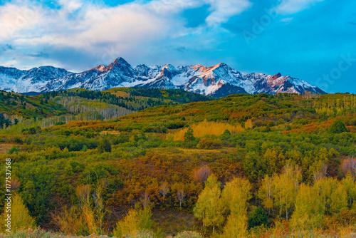 Aluminium Landschappen Colorado Mountain View