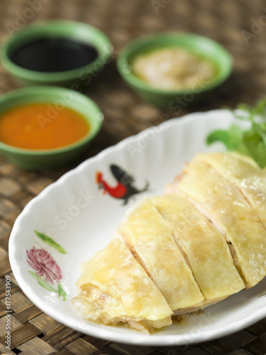 rustic hainan chicken Poster