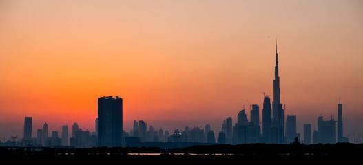 Dubai, United Arab Emirates, Sunset