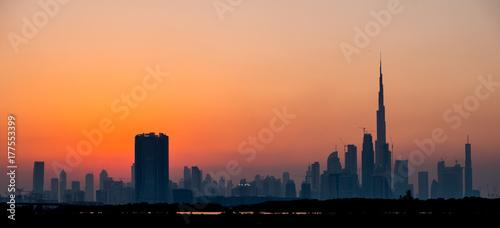 Papiers peints Dubai Dubai, United Arab Emirates, Sunset