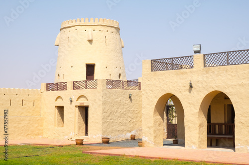 Foto op Canvas Abu Dhabi Fort of Falaj al Mualla, Umm al Quwain, United Arab Emirates