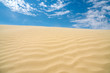 A sunny day at The Great Sand Hills in Saskatchewan, Canada.