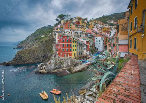 Riomagiore village of Cinque Terre Poster