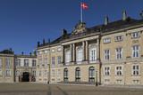 Amalienborg Palace - Copenhagen - Denmark. poster