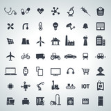 Fototapety IOT, internet of things icon set - 2017_10 - 2