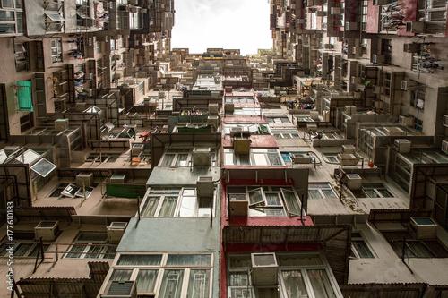 Hong Kong Residential flat Poster