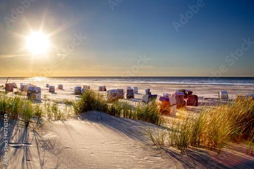 Aluminium Noordzee Strand auf Juist