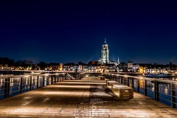 skyline Deventer along the IJssel