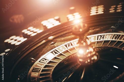 Spinning Roulette Wheel плакат