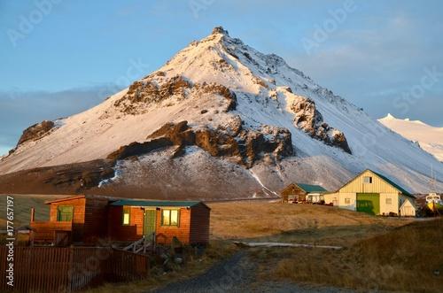 アイスランド スナイフェルスネス半島 国立公園 氷河 冬 iceland island winter snaefellsnes peninsula nation Poster