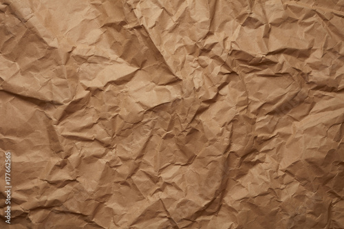 Vintage crumpled paper background