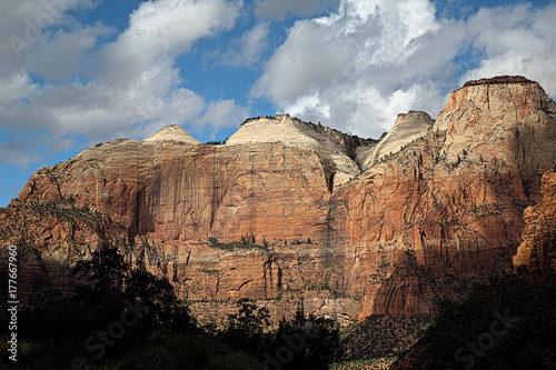 Foto op Plexiglas Chocoladebruin Zion Canyon