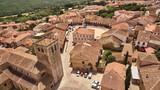 Riaza village in Segovia province, Spain