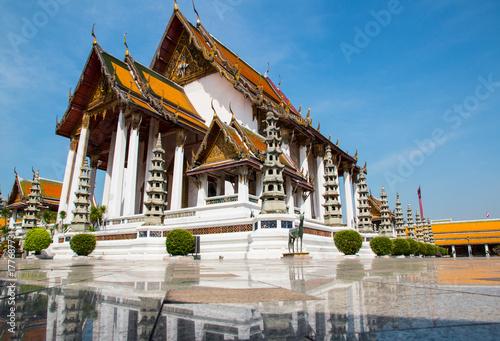 Foto op Aluminium Bangkok Wat Suthat, (Suthattepwararam Temple), Bangkok, Thailand