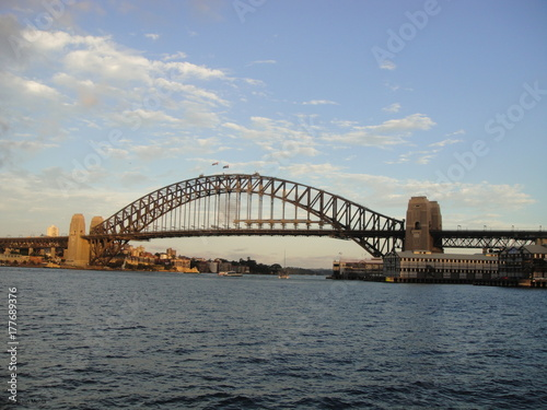 Sydney Harbour Bridge Up-Close Poster