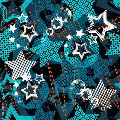 wzor-tapety,-gwiazdy,-kola,-kwadraty,-tlo