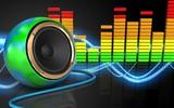 3d audio spectrum audio spectrum - 177707165