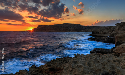 Papiers peints Chypre Cape Greco at sunset.Ayia Napa.Cyprus