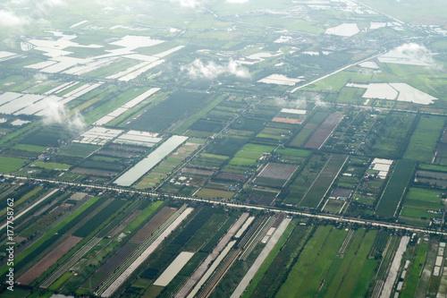 landing Bangkok Canvas