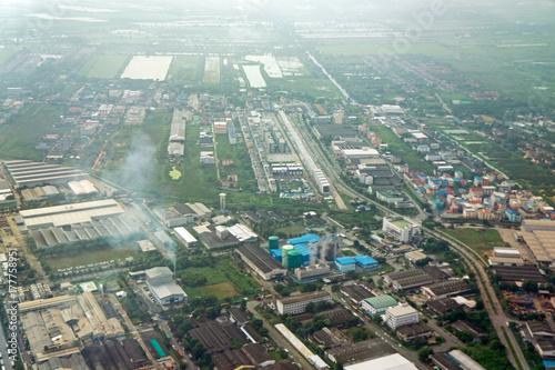 landing Bangkok Poster