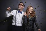 Couple dancing in studio shot - 177762382