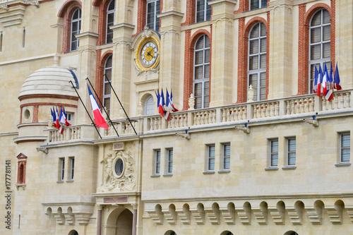 Saint Germain en Laye, France - july 17 2017 : castle Poster
