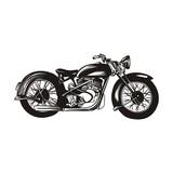 Fototapety Motorcycle logo design