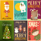 Merry Christmas Posters Set - 177797700