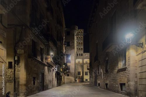 Fotobehang Barcelona Nocturnes BCN