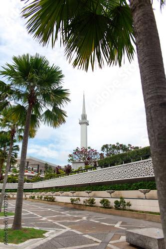 National mosque in Kuala Lumpur, Malaysia Poster