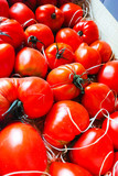 Ancient Provencal french tomatoes on the street market - 177834711